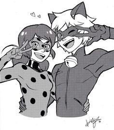 Ladybug x Chat Noir • ladynoir