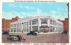 Columbia Business College, Chicago, IL, 1920s
