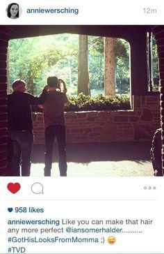 Ian Somerhalder~ finally got haircut fir new season 7