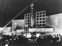 Hollywood Mansions From the 1940s | 1940)**^# - Exterior view of the Hollywood Palladium, located at 6215 ...