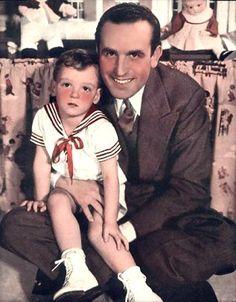 Harold Lloyd and Harold Lloyd, Jr. - goldensilents.com