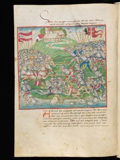 Bern, Burgerbibliothek, Mss.h.h.I.2: Diebold Schilling, Amtliche Berner Chronik, vol 2 · 1478-1483 Language: German (http://www.e-codices.unifr.ch/en/list/one/bbb/Mss-hh-I0002)