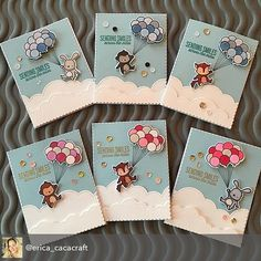 Thank you for sending smiles, Scrapbooking, Scrapbook Cards, Boy Cards, Cards Diy, Mama Elephant Stamps, Handmade Baby, Handmade Cards, I Card, Fun Crafts