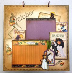 Place In Time October Layout - Scrapbook.com