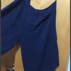 NWOT Blue one sleeve dress Blue one shoulder/sleeve dress Dresses One Shoulder