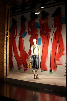 "DSQUARED,Milan,Italy, ""Fashion photography may have trumped illustration a while back,but hand sketching is anything but dead"", pinned by Ton van der Veer"