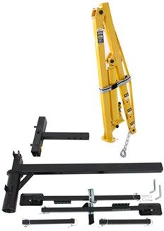 "MaxxTow Hydraulic Pickup Truck Crane for 2"" Hitches - 1,000 lbs MaxxTow Truck…"
