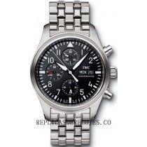 IWC Classic Pilot's Hombres Cronografo Automatico reloj IW371704