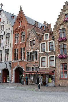 Jan van Eyck Square. Belgium
