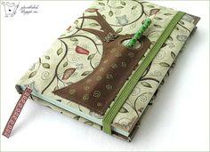 hand made notebook, felt applique