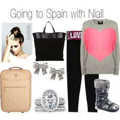 Going to Spain with Niall - Polyvore