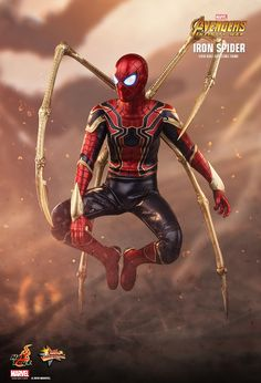 Hot Toys 1/6th scale Iron Spider Avengers: Infinity War Marvel Comics, Marvel Heroes, Marvel Characters, Marvel Avengers, Spiderman Marvel, Disney Marvel, Die Rächer, Iron Spider, Marvel Wallpaper