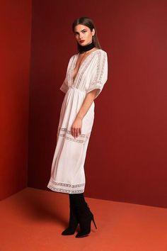 Sora Gown - White