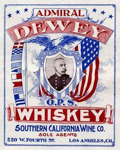 Vintage Alcohol Trademark Cairn Gorm Highland Whiskey 1900 Clip Art California