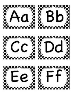 Alphabet letters for word wall. Contains 26 alphabet letter labels and 4 blank labels. Kindergarten Classroom Setup, Kindergarten First Day, Kindergarten Worksheets, Classroom Calendar, Classroom Posters, Learning Letters, Alphabet Activities, Word Wall Headers, Alphabet Words