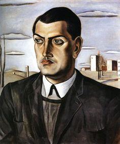 Portrait of Luis Buñuel by Salvador Dalí (1924)