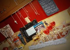 Harry Potter Bridal Shower---Drink station.