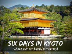 """""""Temple of the Golden Pavilion"""" in Kyoto Japan. I spent 3 days in Kyoto and I loved it! Temple Of The Golden Pavilion, Golden Temple, Japan Tourist Spots, Deer Garden, Kyoto Travel Guide, Kyoto Japan, Tokyo Japan, Japan Photo, Buddhist Temple"""