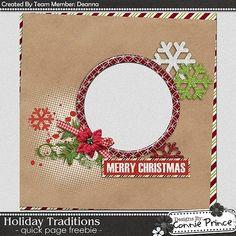 Scrapbooking TammyTags -- TT - Designer - Connie Prince, TT - Item - Quick Page, TT - Theme - Christmas