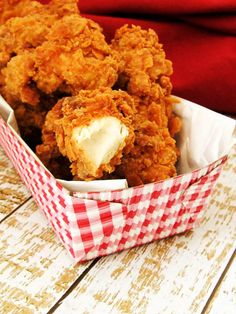 Crispy on the outside and juicy on the inside, crispy chicken tenders are full of flavor and texture. One bite of these and you'll never want restaurant chicken nuggets again. Krispy Chicken, Crispy Chicken Burgers, Fried Chicken Nuggets, Crispy Chicken Tenders, Crispy Fried Chicken, Chicken Bites, Homemade Chicken Tenders Recipe, Chicken Tender Recipes, Homemade Chicken Strips