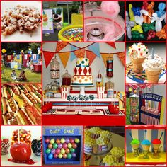 Carnival themed birthday party!!!