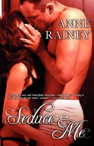 Seduce Me Anne Rainey http://amzn.to/11hlw2m In Touching Lace, Lacey is tired of rejection and turns to her best friend for lessons in seduction. But from Nicks first touch, lessons fly out the windowall she wants is more of him, and him alone.  In Tasting Candy, Blade is hungry for sex and theres only one woman on his menuCandice. Except Candy is afraid of her own shadow. Blade sets out to prove that sex with him is just the therapy she needs. erotic fiction romance book