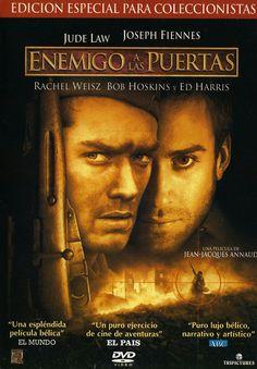 Enemigo a las puertas (2001) EEUU. Dir: Jean-Jacques Annaud. Drama. Thriller. Bélico. Baseado en feitos reais. II Guerra Mundial - DVD CINE 969