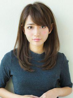 《AFLOATディル裕二朗》ツヤ感ワンカール大人小顔ヘア - 24時間いつでもWEB予約OK!ヘアスタイル10万点以上掲載!お気に入りの髪型、人気のヘアスタイルを探すならKirei Style[キレイスタイル]で。 Hairstyles Haircuts, Pretty Hairstyles, Medium Hair Styles, Short Hair Styles, Japanese Hairstyle, Asian Hair, Long Hair Cuts, Hair Designs, Hair Looks