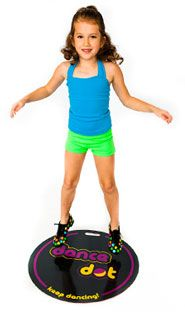 Portable dance flooring that is great for children (and professionals) that love to dance on-the-go.