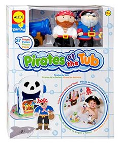 ALEX Toys Rub a Dub Pirates for the Tub