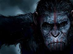Apes Revolution Digital Painting