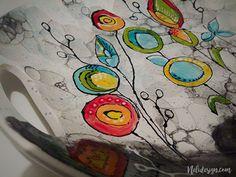 Ceramic painting - a