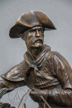 The Cowboy (close up detail) - By Frederic Remington Houston Rodeo, Frederic Remington, Driftwood Sculpture, Smart Art, Equine Art, Western Art, Printmaking, Vikings, Mosaic