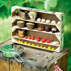 Cute! A DIY Kids' Outdoor Play Kitchen Kitchen Inspiration