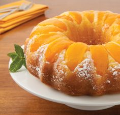 Try a delicious Double Peach Pound Cake recipe from Del Monte. Quick, easy instructions make this Double Peach Pound Cake recipe a breeze. Cupcakes, Cupcake Cakes, Peach Pound Cakes, Bunt Cakes, Canned Peaches, Yellow Cake Mixes, Pound Cake Recipes, Peach Cake Recipes, Sweet Cakes