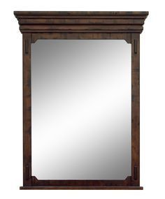 Milltown Framed Mirror with Shelf