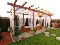 Build a Pergola For a Deck or Patio | Outdoor Spaces - Patio Ideas, Decks & Gardens | HGTV