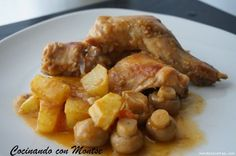 Conejo a la cerveza Steak Recipes, Cooking Recipes, Apple French Toast, Meat Steak, Mexican Food Recipes, Ethnic Recipes, Mediterranean Recipes, Caramel Apples, Food And Drink