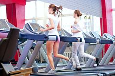 one-minute intervals treadmill workout.