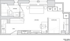 New York City Micro-Apartment By Allen + Killcoyne Architects