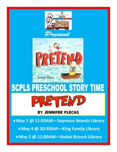 Penguin Players perform Jennifer Plecas' 'Pretend' during preschool story time.