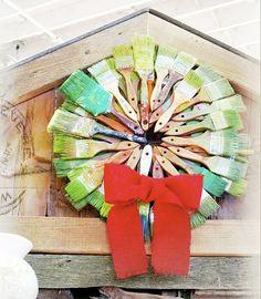 Our #Christmas wreath!