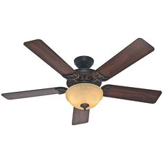 Hunter Sonora 52 in. New Bronze Ceiling Fan-53172 - The Home Depot