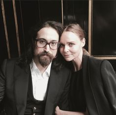 Lunch date with Sean Lennon! X Stella   Pic by Mary McCartney