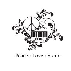 Peace.  Love.  Steno.