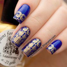 $2.24 Egypt Style Nail Art Stamp Template Image Plate BORN PRETTY BP05 - BornPrettyStore.com