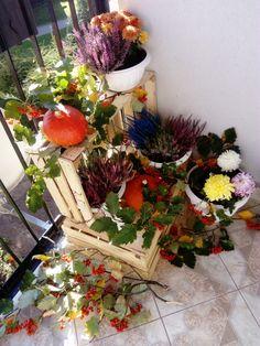 Moja wersja balkon jesień dekoracje