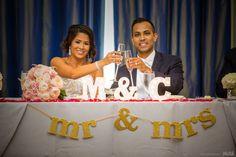 Mr. & Mrs. toast glasses during dinner #Michiganwedding #Chicagowedding #MikeStaffProductions #wedding #reception #weddingphotography #weddingdj #weddingvideography #wedding #photos #wedding #pictures #ideas #planning #DJ #photography