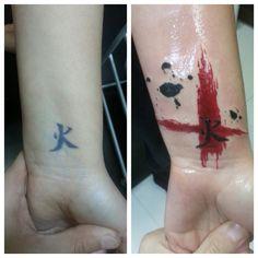 Old tattoo repair