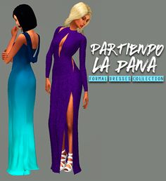Yellow Jealousy : Partiendo La Pana - Formal Dresses Collection (Part 1).